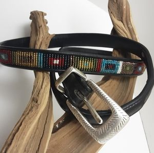 BRIGHTON MULTI BEADED BELT 36XL